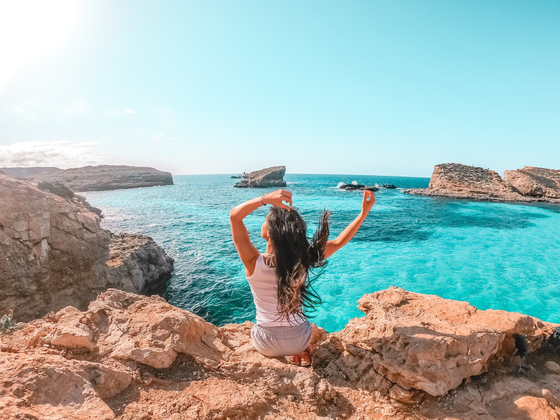 Visiting Comino And The Blue Lagoon Malta That Girl Outdoors